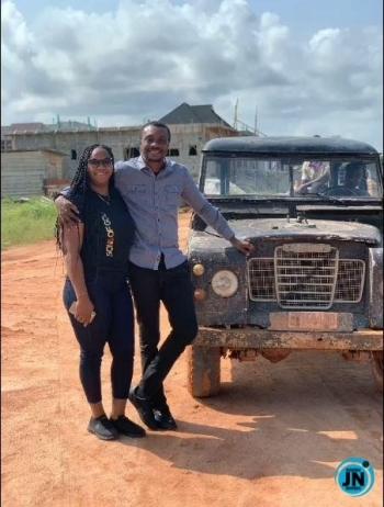 Gospel singer, Nathaniel Bassey celebrates 8th wedding anniversary with his wife, Sarah (Video)